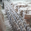 Excavation of thousands of Terracota Warriors
